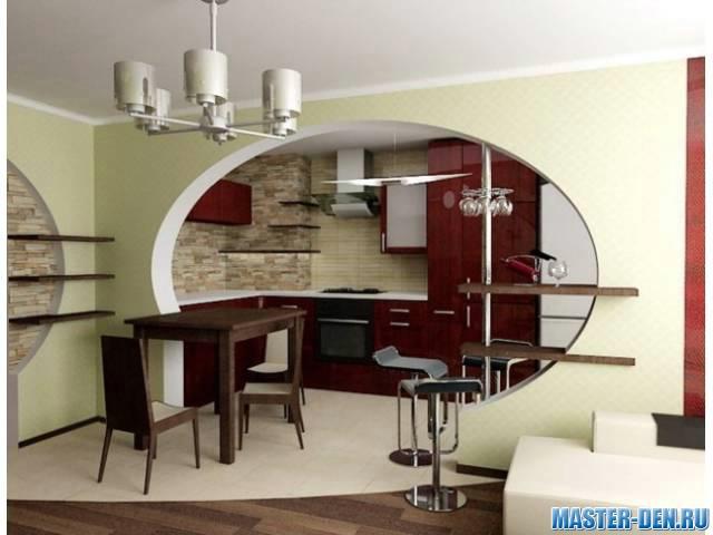 арка в квартире дизайн фото