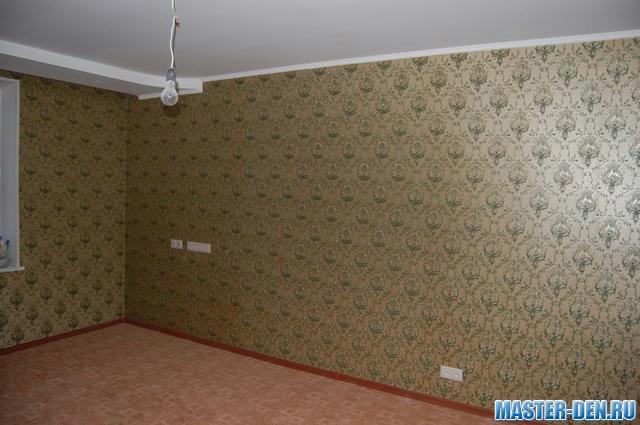 фото стены с обоями